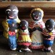 画像1: 40s Vintage Aunt Jemima Advertising Oil Cloth Doll Complete Set (S800)  (1)