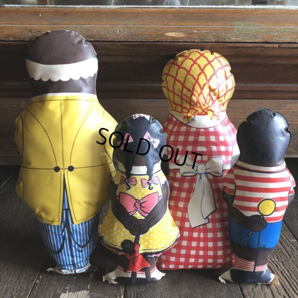 画像2: 40s Vintage Aunt Jemima Advertising Oil Cloth Doll Complete Set (S800)