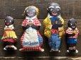 画像3: 40s Vintage Aunt Jemima Advertising Oil Cloth Doll Complete Set (S800)