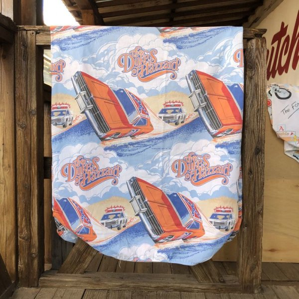 画像1: Vintage Box Fabric The Dukes of Hazzard (S801)