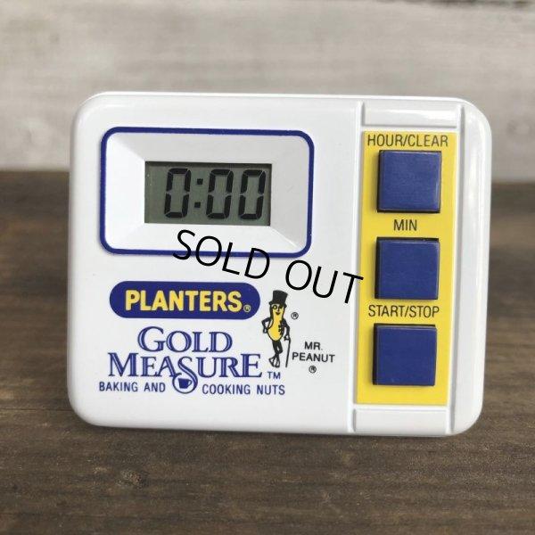 画像1: Vintage Planters Mr. Peanut Gold Measure (S808)