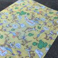 画像3: 70s Vintage Fabric Twin Flat  Road Runner & Wile E. Coyote (S815)