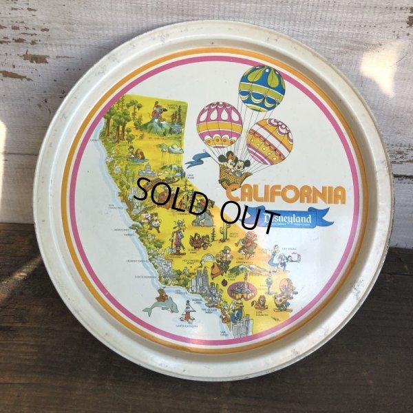 画像1: Vintage California Disneyland Tin Tray (S815)