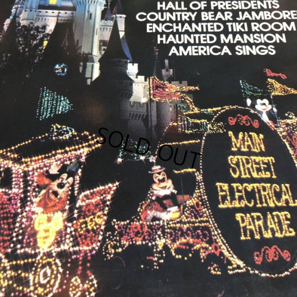 画像5: Vintage LP Disney Disneyland Walt Disney World (S866)