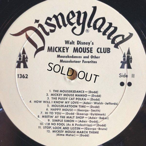 画像4: Vintage LP Disney Mickey Mouse Club (S865)