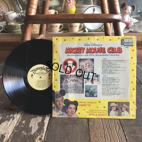 画像2: Vintage LP Disney Mickey Mouse Club (S865)