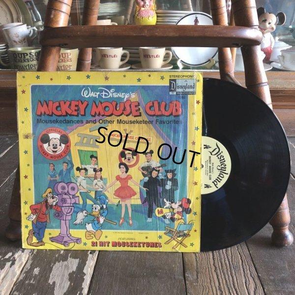画像1: Vintage LP Disney Mickey Mouse Club (S865)