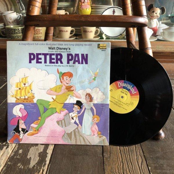 画像1: Vintage LP Disney PETTER PAN (S876)