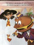 画像5: 70s Vintage McDonalds Poster Sign Hamburglar & Mayor McCheese (S904)