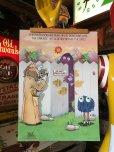 画像1: 70s Vintage McDonalds Poster Sign Grimace & The Professor (S905)  (1)
