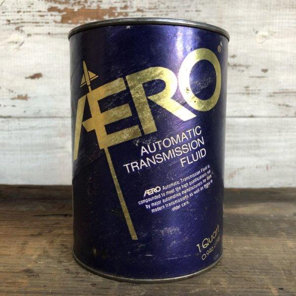 画像1: Vintage AERO Quart Oil can (S952)