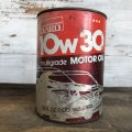 Vintage MONTGOMERY WARD Quart Oil can (S931)
