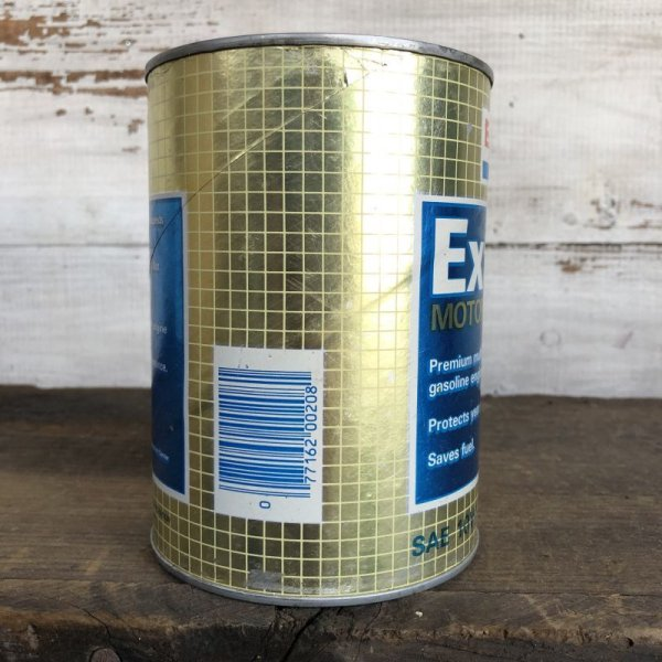 画像4: Vintage EXXON Quart Oil can (S923)