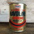 Vintage TEXACO Quart Oil can (S941)