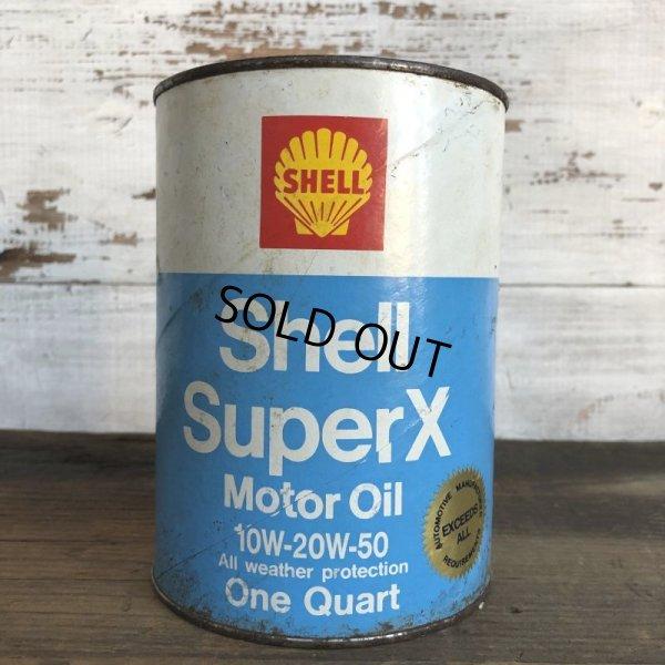 画像1: Vintage SHELL Quart Oil can (S933)