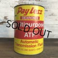 Vintage PAYLESS Quart Oil can (S938)