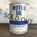 Vintage MOTOR OIL Quart Oil can (S950)