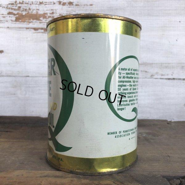 画像2: Vintage QUAKER STATE Quart Oil can (S928)