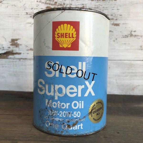 画像3: Vintage SHELL Quart Oil can (S933)