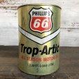 画像1: Vintage PHILLIPS 66 Quart Oil can (S921)  (1)