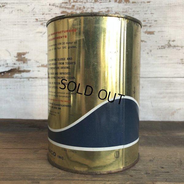画像4: Vintage TEXACO Quart Oil can (S940)