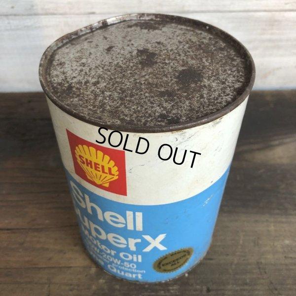 画像5: Vintage SHELL Quart Oil can (S933)