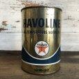 画像1: Vintage TEXACO Quart Oil can (S940)  (1)