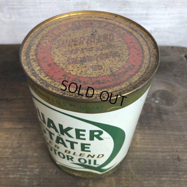 画像5: Vintage QUAKER STATE Quart Oil can (S928)