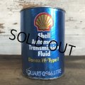 Vintage SHELL Quart Oil can (S953)