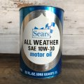 Vintage SEARS Quart Oil can (S946)