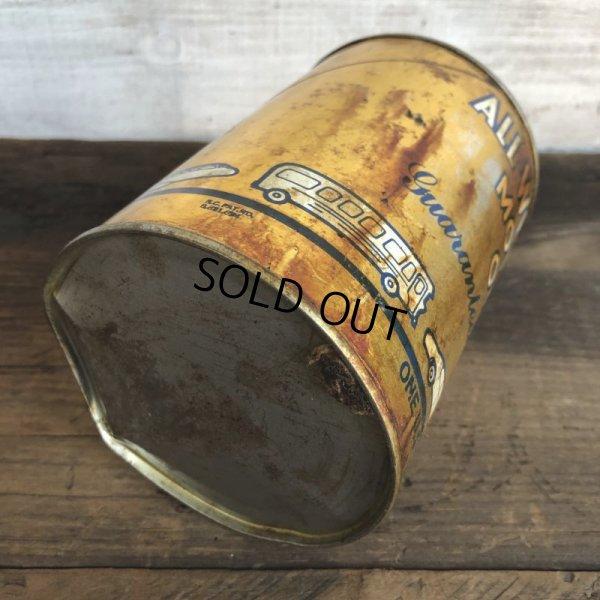 画像5: Vintage ALL-WEATHER MOTOR OIL Quart Oil can (S944)