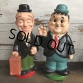 70s Vintage Laurel & Hardy Bank Set (S964)