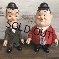 70s Vintage Laurel & Hardy Doll Set (S965)
