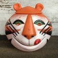 60s Vintage Kelloggs Tony the Tiger Plastic Cookie Jar (S902)