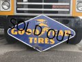 Vintage Goodyear Tires Porcelain Sign (S925)