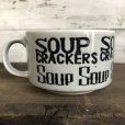 画像3: 70s Vintage Soup Crackers Heavy Mug Gray (S928)