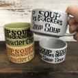 画像9: 70s Vintage Soup Crackers Heavy Mug Gray (S929)