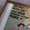 画像4: Vintage The Navy Needs you Poster w/frame (T002)