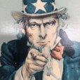 画像6: Vintage Uncle Sam Poster w/frame (T001)