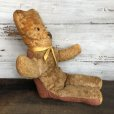 画像2: Vintage Brown Bear Doll  (T012) (2)