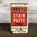 Vintage BIX STAIN PUTTY POWDER can (T043)