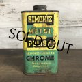 Vintage SIMONIZ METAL POLISH can (T042)