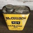 画像5: Vintage McCULLOCH GEAR CASE OIL can (T046)