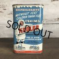 Vintage ESKIMO KOOLER can (T047)