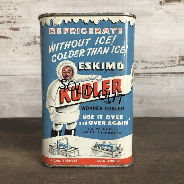 画像1: Vintage ESKIMO KOOLER can (T047)