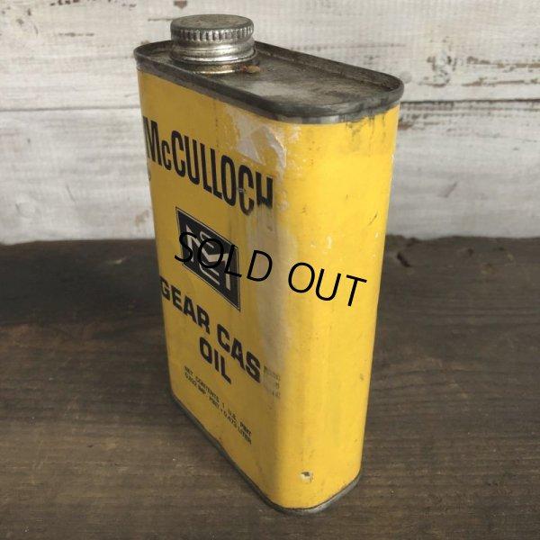 画像2: Vintage McCULLOCH GEAR CASE OIL can (T046)