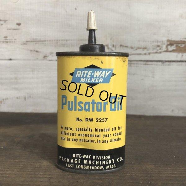 画像1: Vintage RITE-WAY MILKER  Pulsator Oil can (T039)