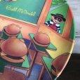 画像3: Vintage 1989 McDonalds Plastic Plate Hamburger University (T096)  (3)