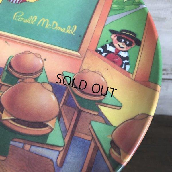 画像3: Vintage 1989 McDonalds Plastic Plate Hamburger University (T096)