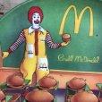 画像4: Vintage 1989 McDonalds Plastic Plate Hamburger University (T096)  (4)